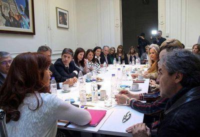 Los senadores que plantaron a Cristina en el Instituto Patria