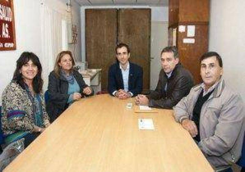 ATE y CICOP dialogaron con la ministra Ortíz