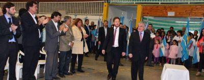 Obras y anuncios por más de $ 25 millones para Dolavon, antes de la cumbre con Carlos Linares