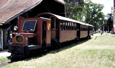 El Colegio de Ingenieros se hará cargo de la reparación y puesta en marcha del tren de la República de los Niños