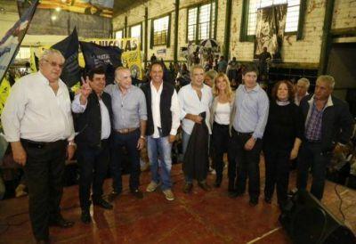 En medio de la interna peronista, el PJ se congregó en San Nicolás