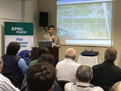 EPEC presentó los avances del plan de inversiones