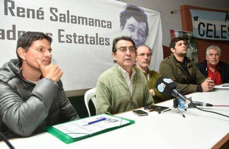 Los principales dirigentes sindicales de la corriente Ren� Salamanca se re�nen en Santa Rosa