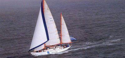Primera campaña oceanográfica en el Motovelero Houssay