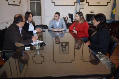 Reunión con la Agente Fiscal, Dra. Patricia Hortel