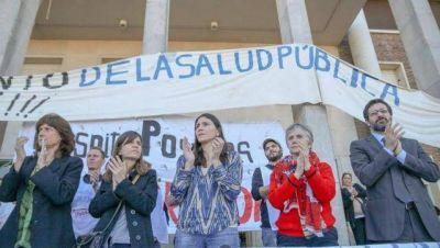 Macha, Raverta y Ripoll acompañaron el reclamo de los trabajadores del Posadas