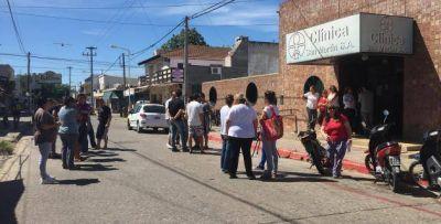 Clínica San Martín: Si este lunes no hay respuestas, el martes volverán a marchar