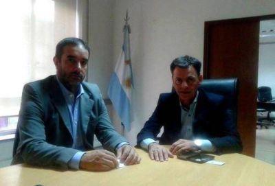 Castelli realizó gestiones en el Ministerio del interior, Obras Públicas y Vivienda