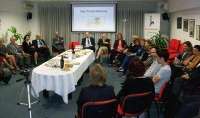 Brindis institucional de Pesaj de los Amigos de la Universidad Hebrea de Jerusal�n