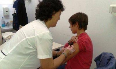 Campaña de vacunación antigripal pediátrica