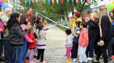 Katopodis inauguró las obras de renovación de la Plaza Tropezón