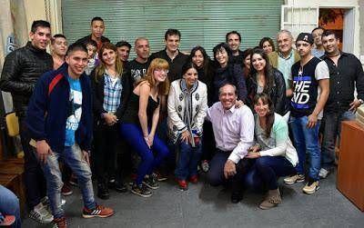 Galmarini se reunió con vecinos de Martínez