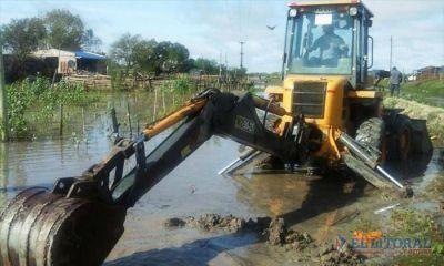 Inundación: buscarán precisiones sobre la financiación nacional para caminos y casas