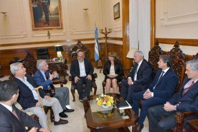 Colombi destacó los vínculos con Nación y quiere apurar obras viales