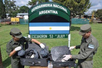 Jujuy, tercera provincia del país donde más cocaína se secuestró durante el 2015