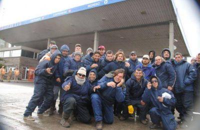 Trabajadores bloquearon el ingreso al puerto de productos congelados