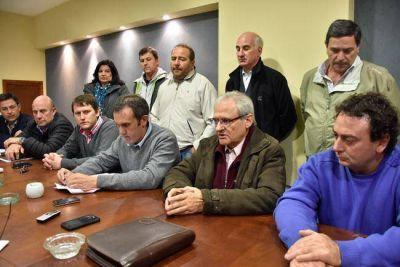 Regalías: por la presión de los intendentes, la UCR respalda el proyecto oficial
