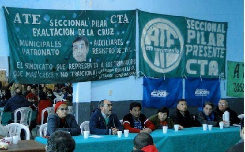 """ATE Provincia propone """"construir un gran frente social contra el ajuste"""""""