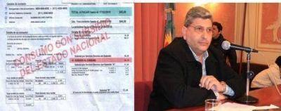 """Monfasani presentó un recurso de amparo contra el """"aumento tarifario"""" del servicio eléctrico"""