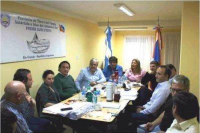 Bertone analizó el avance del plan de infraestructura