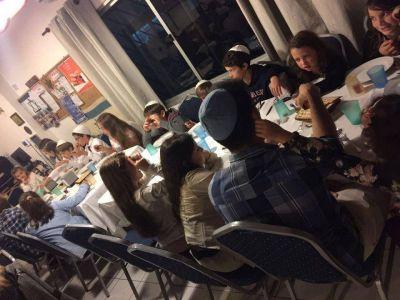 La comunidad judía de Uruguay celebró un seder de Pésaj comunitario