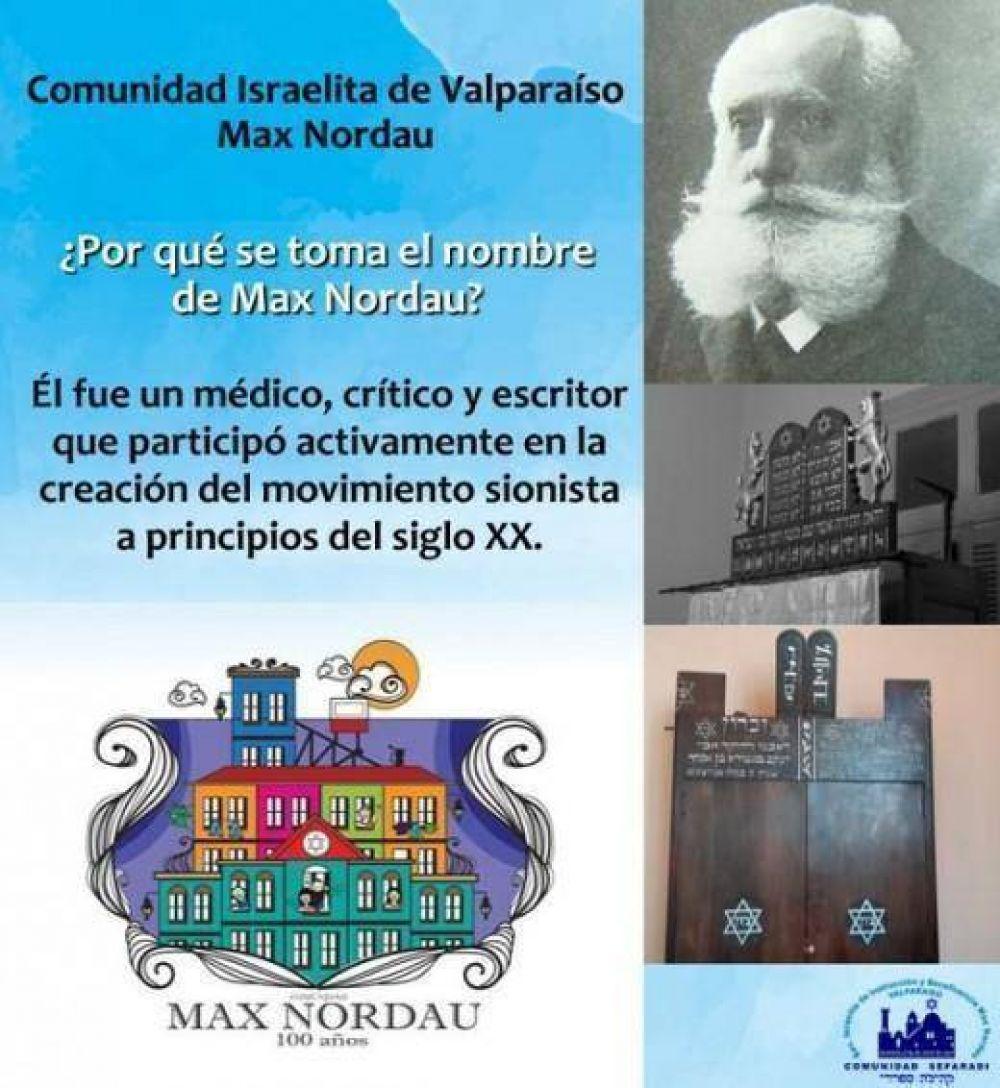 Cumple 100 años la Sinagoga de Valparaíso en Chile