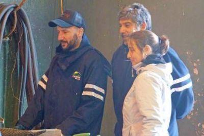 Técnicos del CEAMSE están en Trenque Lauquen para realizar estudios en el PROLIM