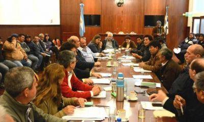 Diputados se reunieron con dirigentes y trabajadores del ingenio La Esperanza por la declaracion de emergencia en San Pedro