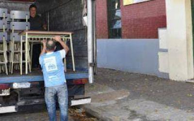 San Martín: El Municipio entregó mobiliario a escuelas y jardines