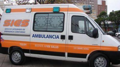 El servicio de ambulancia permanece en emergencia en Mar del Plata