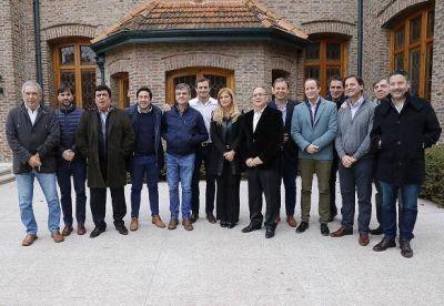 Intendentes del FPV se reunieron para trabajar una agenda política común