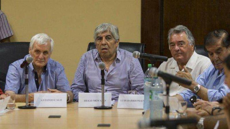 Moyano ratific� la movilizaci�n de este viernes y no descarta un paro nacional en mayo