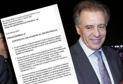 El Grupo Indalo niega la crisis mientras sufre un nuevo embargo por 25,5 millones de pesos