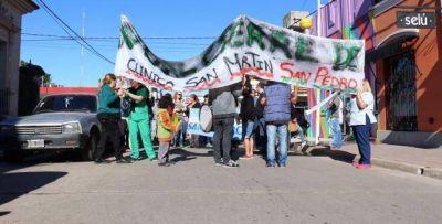 Clínica San Martín: Frente Sindical y Social invita a movilizar junto a las trabajadoras