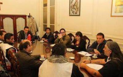 Zárate: Cáffaro se reunió con dirigentes de CTA