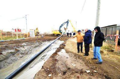 Avanza la construcción del gasoducto que abastecerá a la Margen Sur