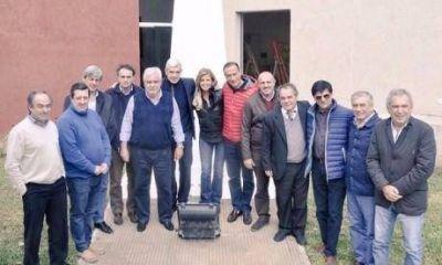Jefes Comunales peronistas del oeste y sudoeste en reunión que se realizó en Cañuelas