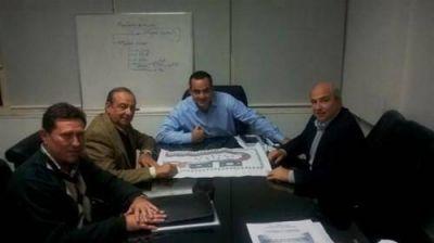 Sánchez gestionó obras con funcionarios provinciales y nacionales