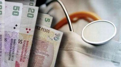 En la provincia no se puede evitar el cobro del plus m�dico, que ahora cuesta $ 300