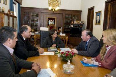 Corpacci se reunió con autoridades de Seguridad Vial