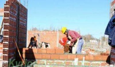 El empleo de la construcción cayó un 6,5% en febrero