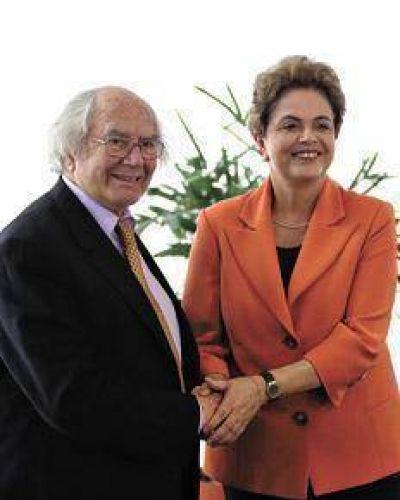 P�rez Esquivel llev� a Dilma el apoyo del Papa