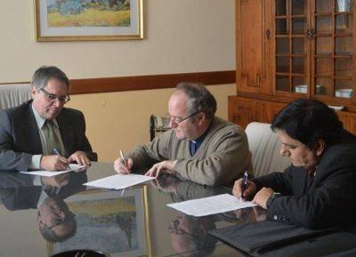 Caritas La Plata firmó convenio con el Servicio Penitenciario Bonaerense