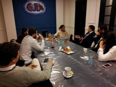 Miembros del Congreso Judío Latinoamericano se reunieron con Nancy Falcón del Centro Cultural Alba