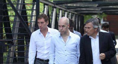 Larreta le adjudica a Roggio una obra clave contra las inundaciones