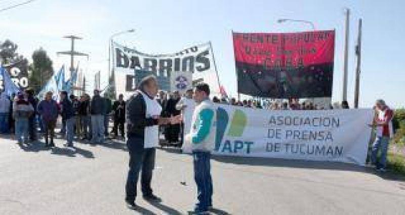 El gremio de Prensa particip� de las protestas contra el ajuste macrista