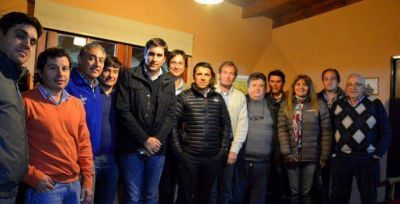 Reuni�n del Pro seccional con el diputado Manuel Mosca