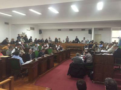 El concejo deliberante aprobó la ley de Emergencia en Infraestructura