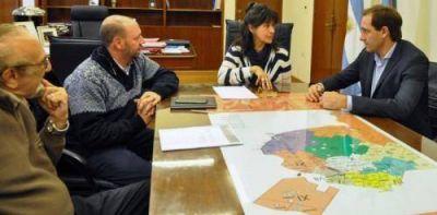 Garro fue recibido por la ministra de Salud y avanzaron en la pronta incorporación del SAME