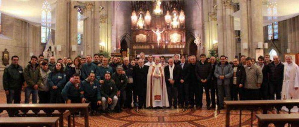 """Monseñor Marino: """"Nuestra patria nos reclama a todos unión de voluntades, capacidad de escucha y de diálogo"""""""